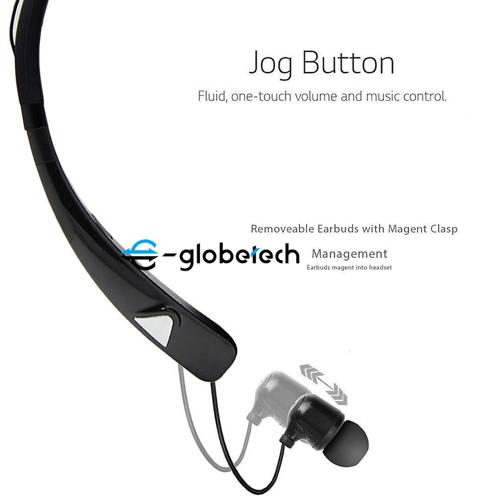 HV-980 Bluetooth Headphones Wireless Neckband Headset